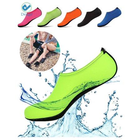 7058543bc45 Deago Men Women Skin Water Barefoot Shoes Aqua Beach Socks Yoga ...