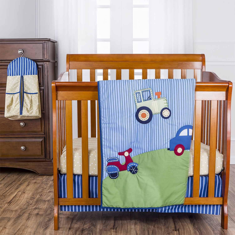 Dream On Me Travel Time 5 Pc Reversible Portable Crib Set   Walmart.com