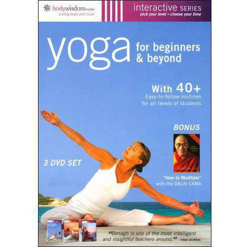 Yoga For Beginners (3-Disc) by BODYWISDOM