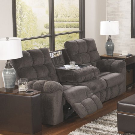 Signature Design By Ashley Acieona Reclining Sofa Walmart Com