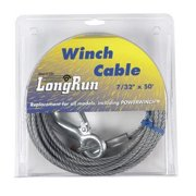 """winch cable 50' 7/32"""" by tie down eng mfrpartno 59401"""