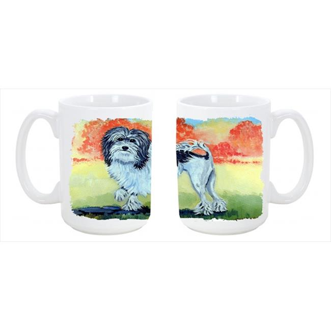 Lowchen Dishwasher Safe Microwavable Ceramic Coffee Mug 15 oz. - image 1 of 1