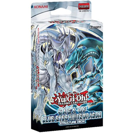 Saga of Blue-Eyes White Dragon Structure Deck 1st Edition Yu-Gi-Oh Dragon Lords Structure Deck