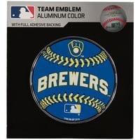 Milwaukee Brewers Baseball Emblem Decal