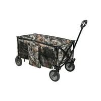 Ozark Trail Camo Print Quad-Folding Wagon w/Telescoping Handle