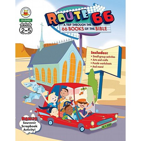 Route 66: A Trip through the 66 Books of the Bible, Grades 2 -
