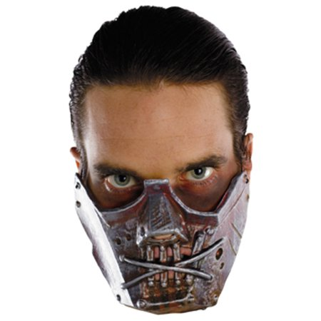 New Silence of the Lambs Hannibal Lecter Crazy Cannibal Costume Mask - Dead Silence Mask