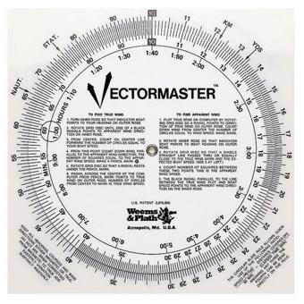 Weems & Plath Navigation Vectormaster Circular Slide Rule and Navigation Tool