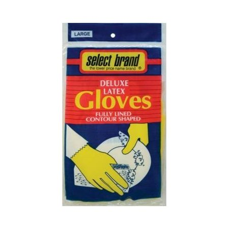 S/B Gloves Latex Large 4422Sj, PartNo 505, by Eagle Home Products, Household - Latex Product