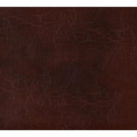 Custom Leather Upholstery - Discounted Designer Fabrics G489 Sienna Brown Distressed Leather Upholstery Recycled Leather