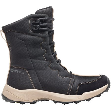 Becky Quick Boots (Icebug Women's AVILA3 BUGsole Black/Almond Snow Boot Size)