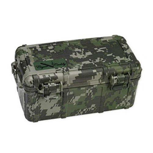 Prestige Import Group Large Camo Cigar Caddy Humidor