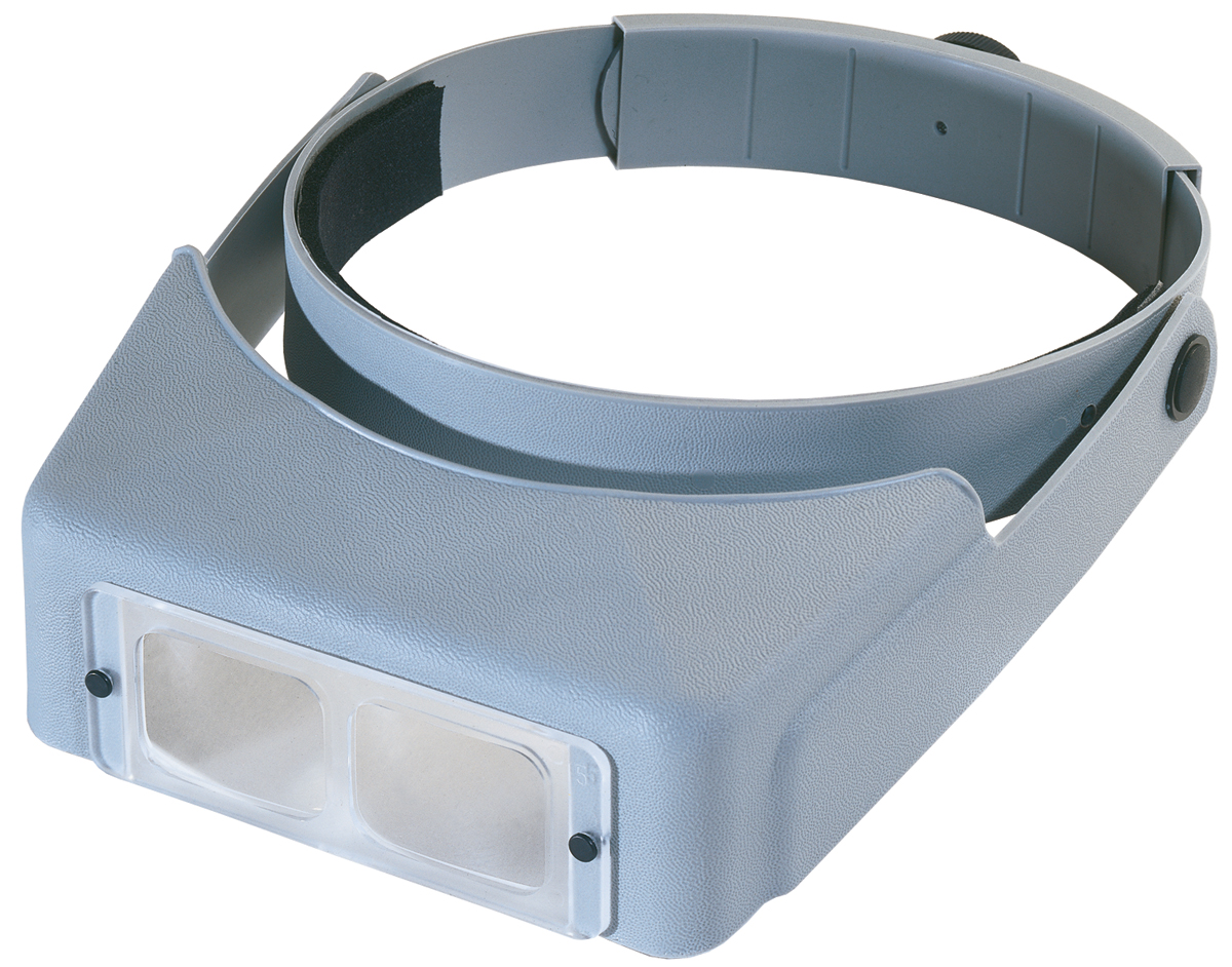 "OptiVISOR LX Binocular Magnifier, Lensplate #4 Magnifies 2X At 10"" by Donegan Optical"
