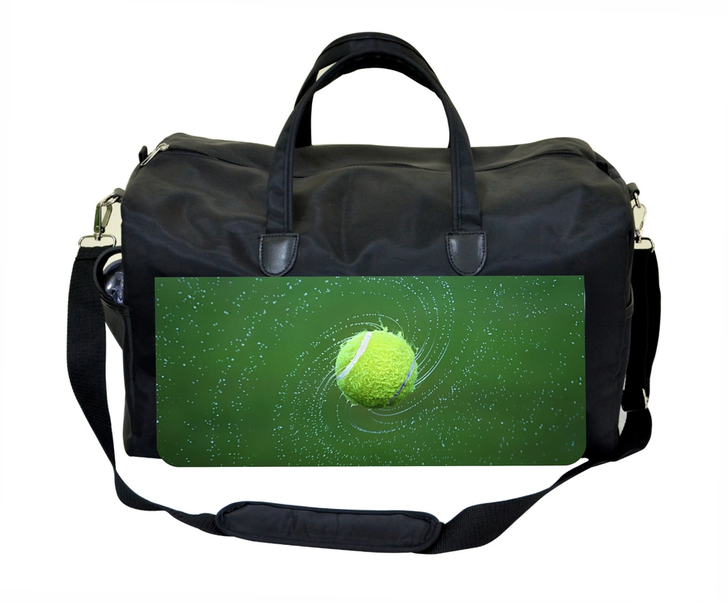 0fe0167757a0 Tennis Ball Large Black Duffel Satchel Style Therapy Supplies   Therapist s  Bag