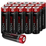 iTechOne Rechargeable AAA Batteries 16 Counts High iTechOne Rechargeable AAA Batteries  16 Counts  High.. B0765CH3FB