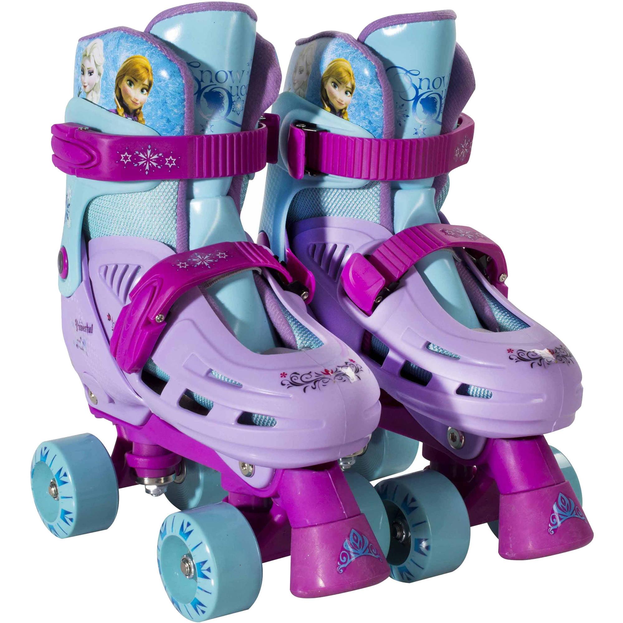 Roller skates for dogs - Playwheels Disney Frozen Kids Rollerskate Junior Size 1 4 Walmart Com