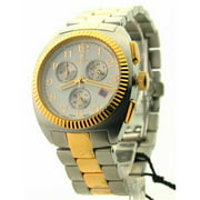 CC311293TTDW Mens Steel Two Tone Chrono 3 Eye Date Watch