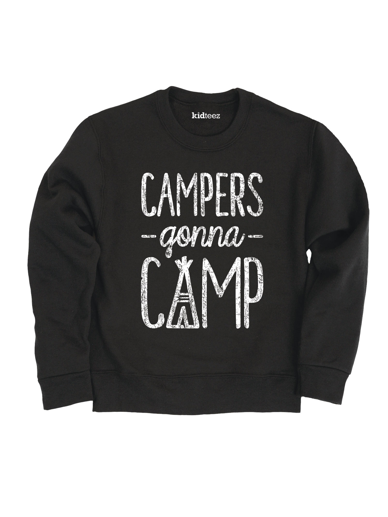 Campers Gonna Camp-TODDLER CREW FLEECE