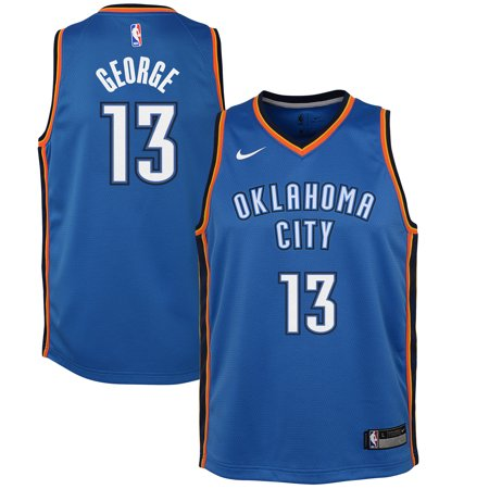 Paul Konerko Jersey - Paul George Oklahoma City Thunder Nike Youth Swingman Jersey Blue - Icon Edition
