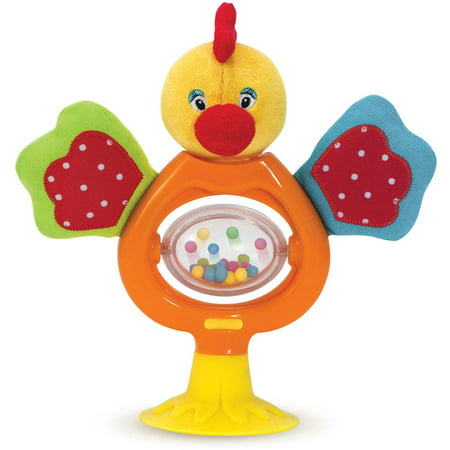 Melissa & Doug Emma Stick and Spin Baby and Toddler Highchair Suction Toy