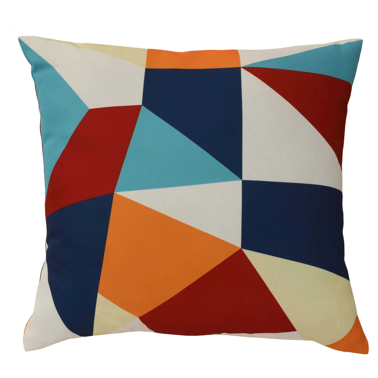 Habitat Abstract Outdoor Throw Pillow