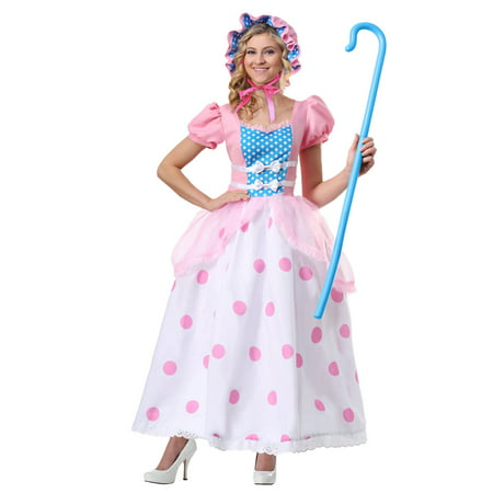 Bo Peep Women's Costume - Little Bo Peep Adult Costume