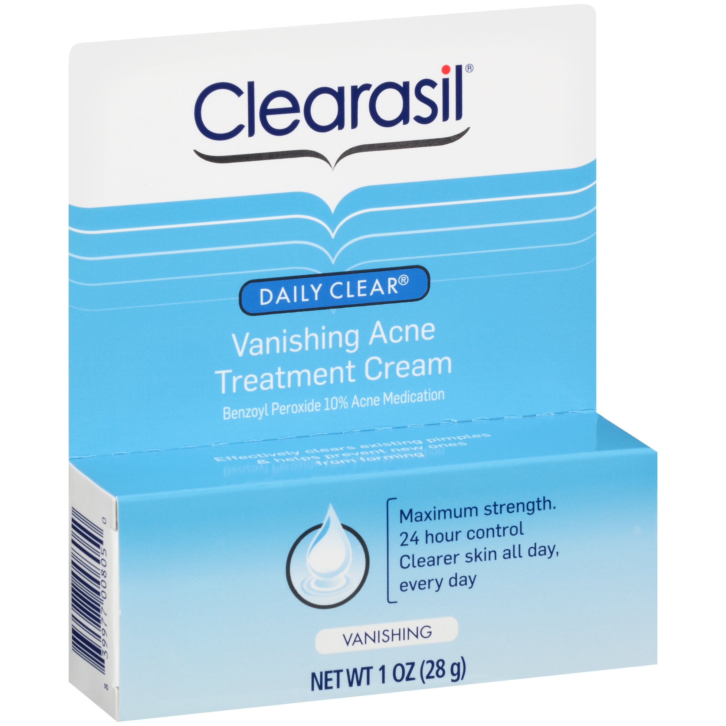 Clearasil Daily Clear Vanishing Acne Treatment Cream, 1 Ounce by Reckitt Benckiser