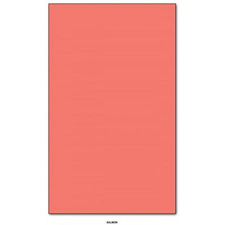 Cherry Scrapbooking Paper - Salmon - Color Paper 20lb. Size 8.5 X 14 Legal / Menu Size 100 Per Pack