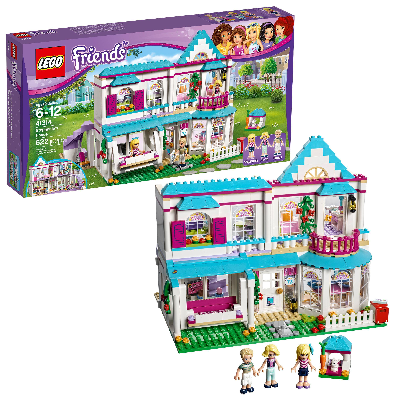LEGO Friends Stephanie's House 41314 Toy Dollhouse Playset ...