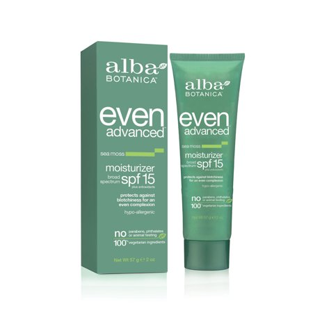 Alba Botanica Even & Bright Moisturizer - SPF 15 - 2oz