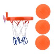 Fugacal Bath Toy Fun Basketball Hoop & Balls Set Kid & Toddler Bathtub Shooting Game Toy, Basketball Rack Toy, Bathtub Basketball Hoop