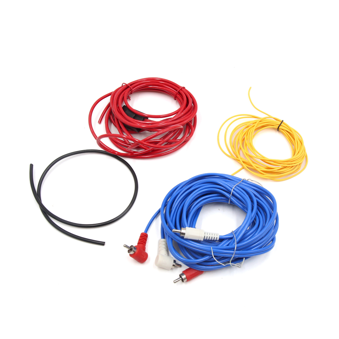14 GA Car Audio System RCA Power Control Speaker Amplifier Wiring Cable Wire Kit