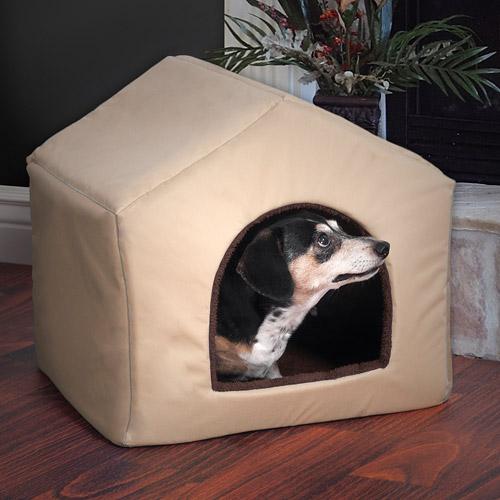 PETMAKER 2-in-1 Dog House Pet Bed, Medium