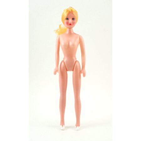 11 inch Plastic Craft Doll Blonde Hair Fashion Doll 1 Piece - Craft Dolls