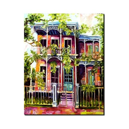 Garden District Metal (Garden District Fancy Print Wall Art By Diane Millsap )