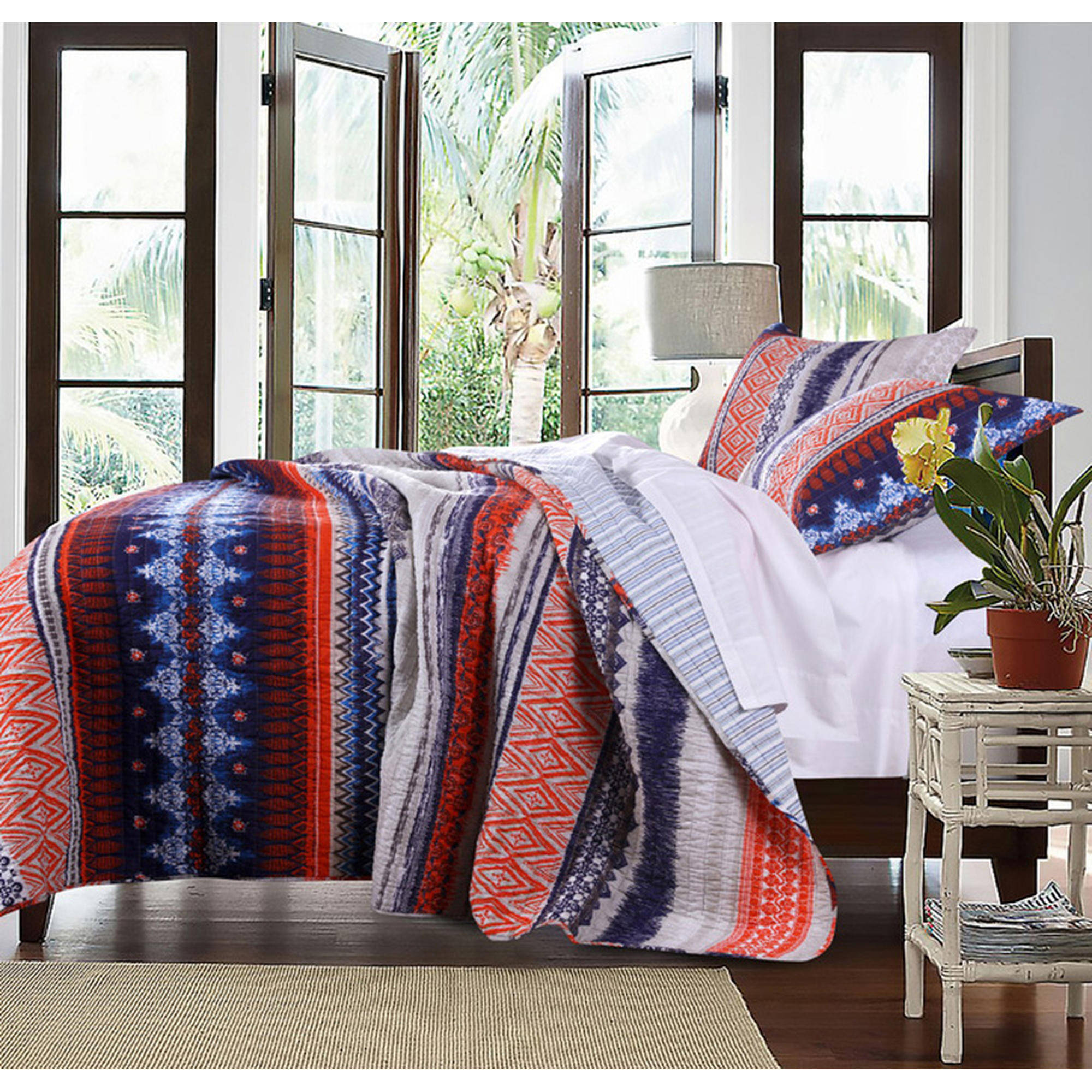 Global Trends Uber Quilt Set, Twin, Multicolor