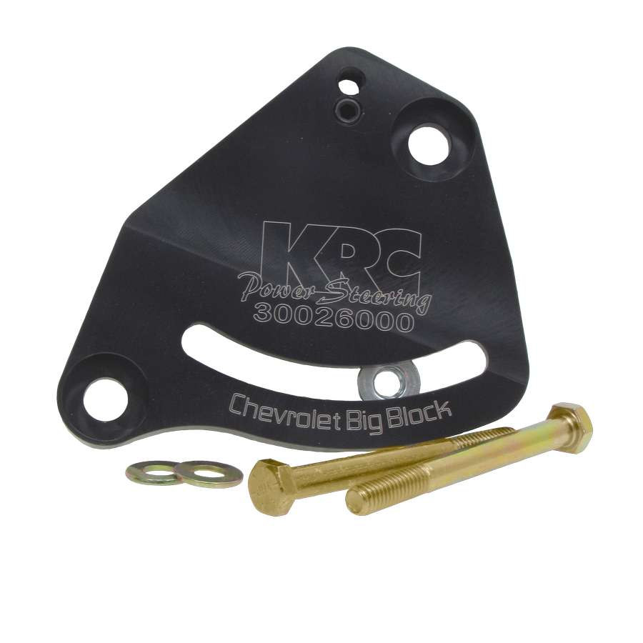 KRC Power Steering BBC Driver Side Power Steering Pump Bracket Kit P/N 30026000
