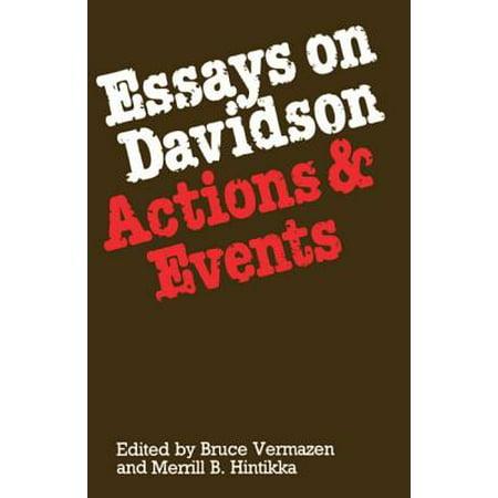 Essays actions events davidson