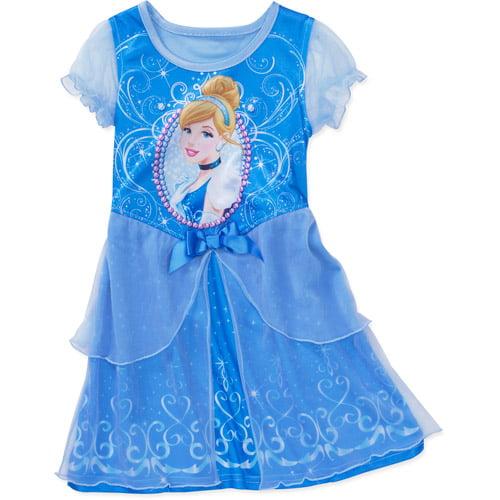Disney Baby Girls' Cinderella Dress Up Nite Gown