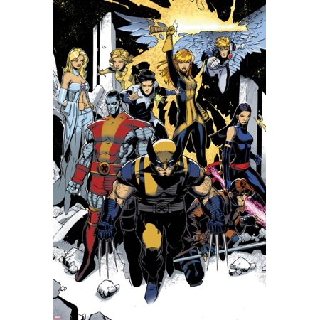 X-Men: Curse of The Mutants - Storm & Gambit No.1: Wolverine, Colossus, Magik, Psylocke, Northstar Print Wall Art By Chris Bachalo