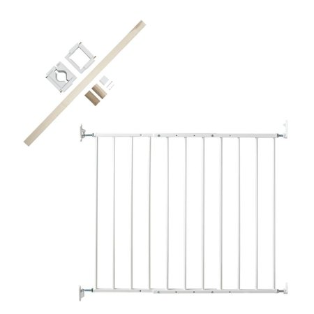 KidCo Safeway Baby Safety Gate with Stairway Installation Kit