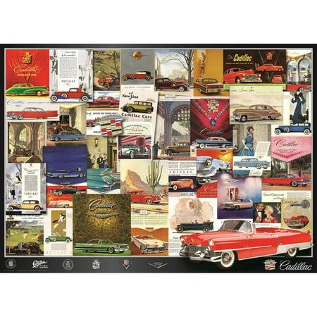 Vintage Car Ads  Cadillac 1000 Piece Puzzle