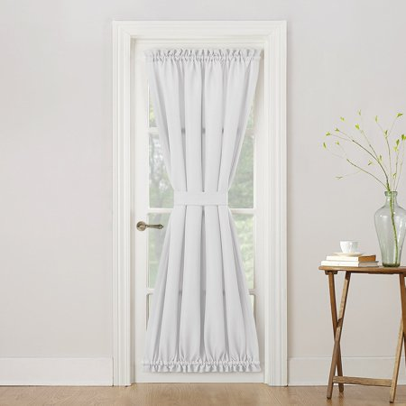 No 918 Montego Casual Textured Patio Door Panel 48 X 72 White