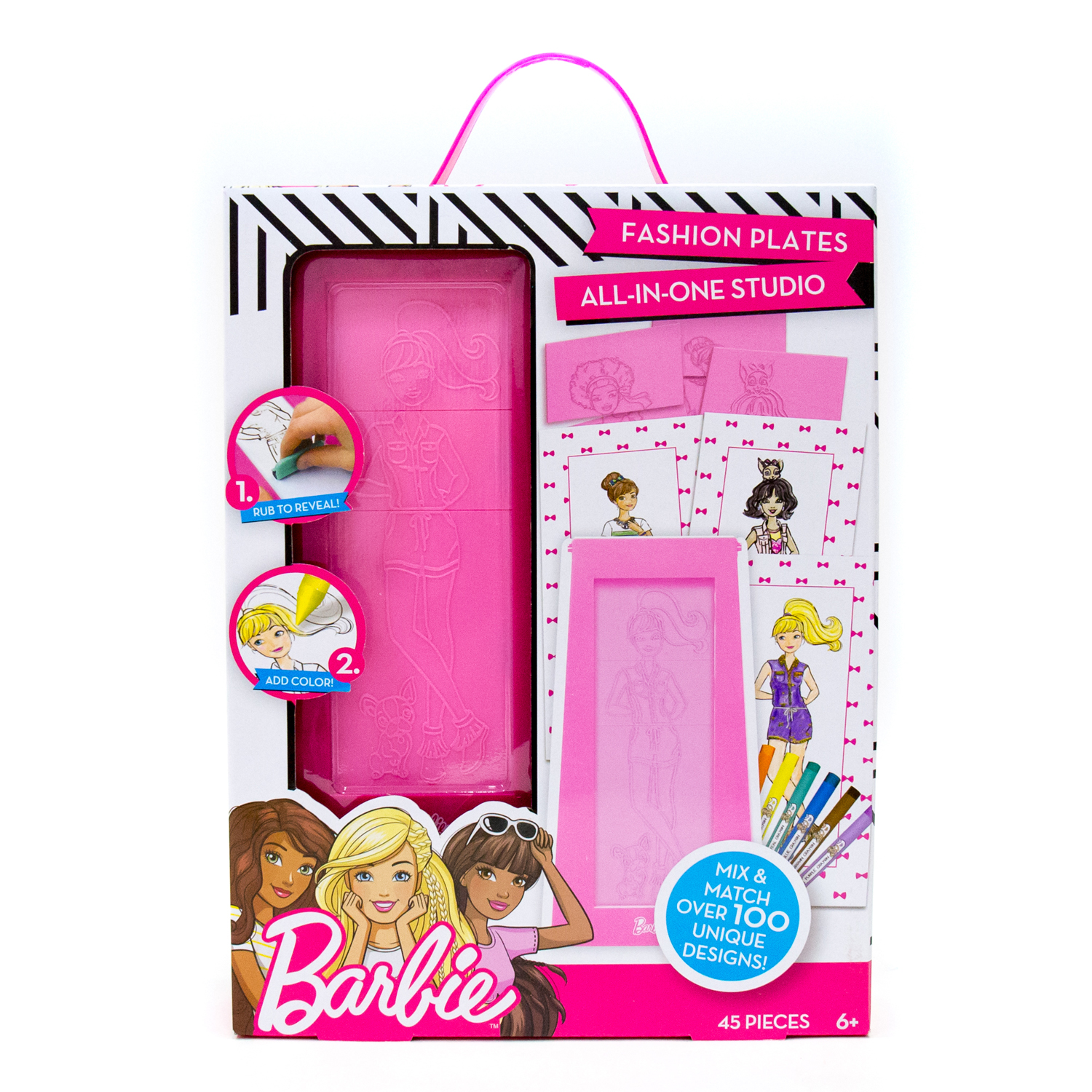 Barbie Mix and Match Fashion Plates by Horizon Group USA