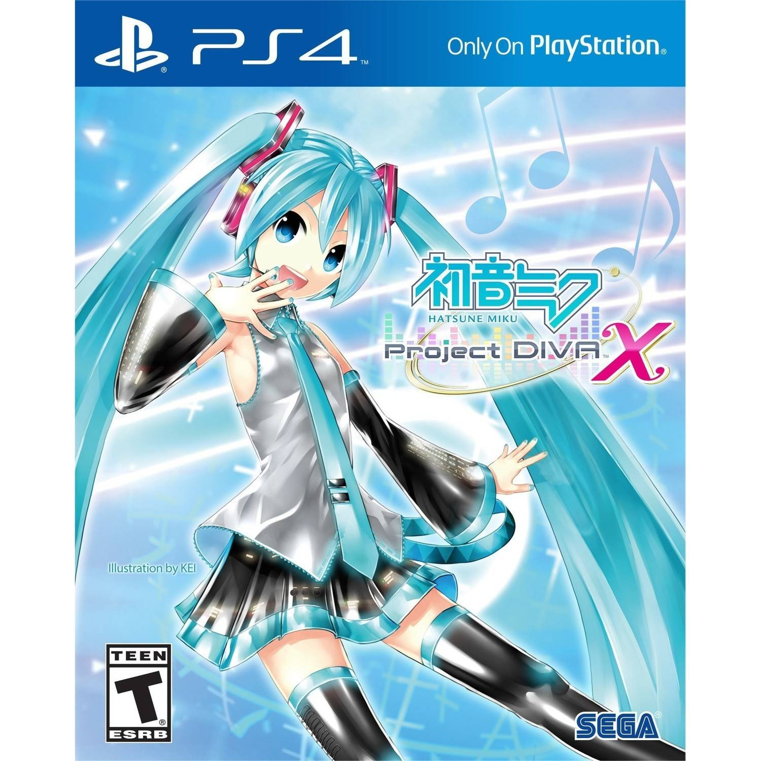 Hatsune Miku Project Diva (PS4)