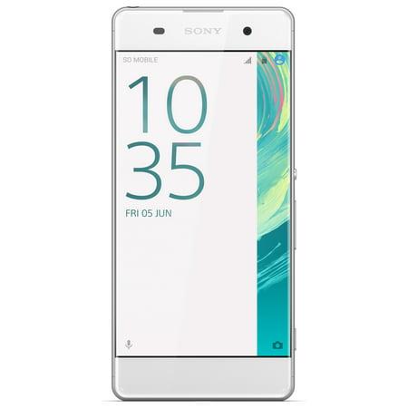 Sony Xperia E5 F3313 16GB Unlocked GSM Phone w/ 13MP Camera - White
