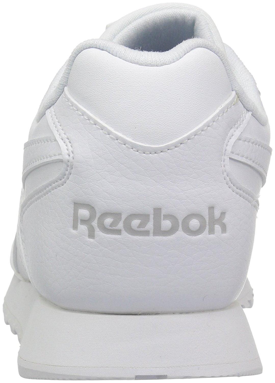 Reebok Womens REEBOK CL HARMAN White/Steel RUN, White/Steel HARMAN 0cf35a