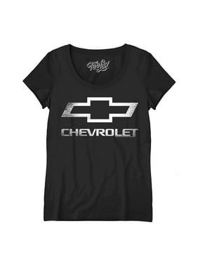 Trevco 2 Pack Combo Corvette Vette Modern /& Original Logo Mens Adult T-Shirts Black /& Blue