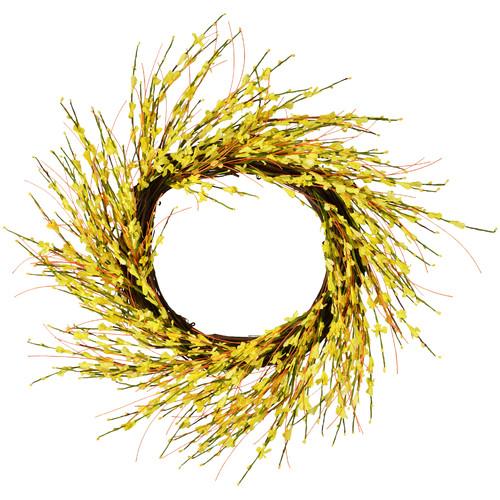 Fantastic Craft 20'' Forsythia Wreath