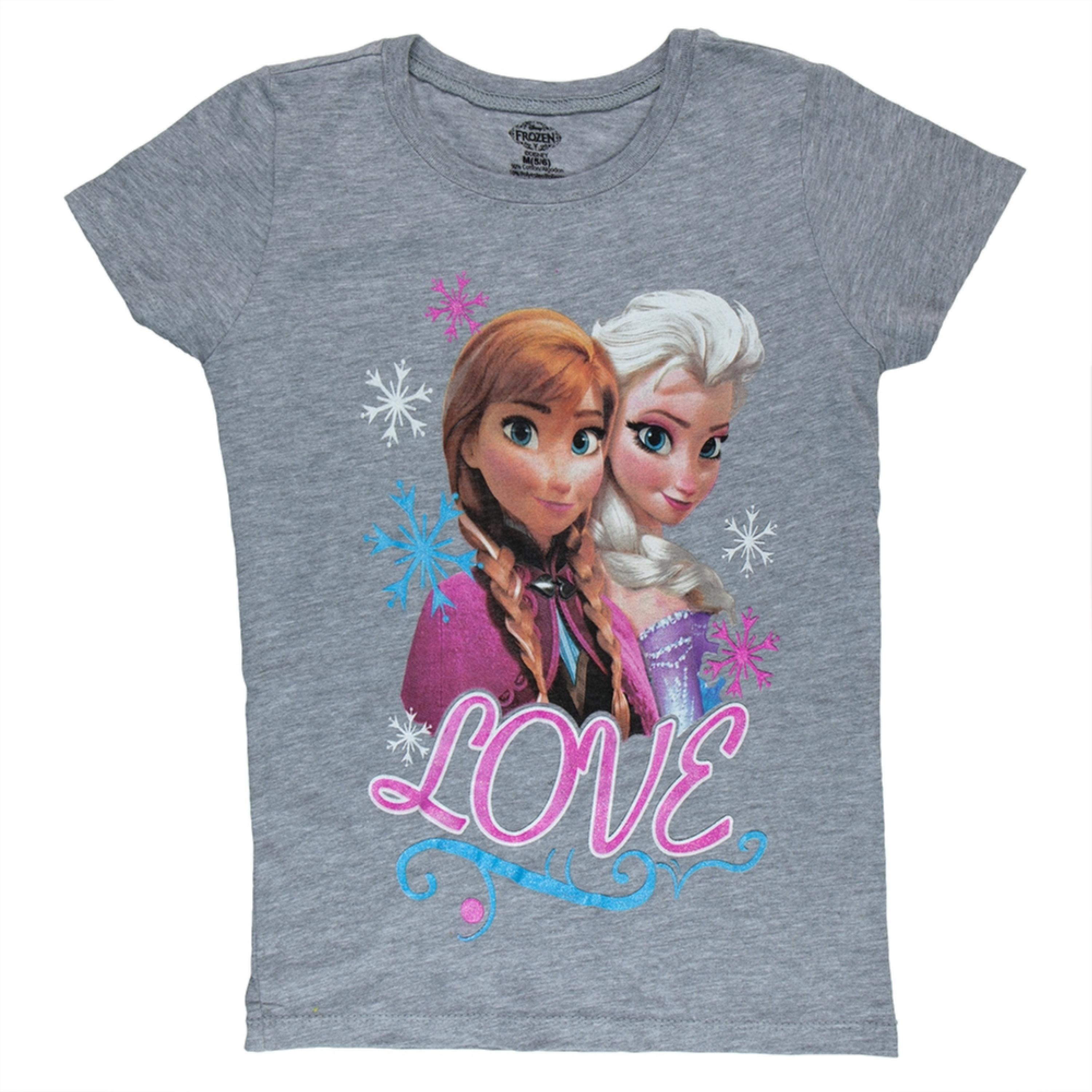 Frozen - Love Girls Juvy T-Shirt